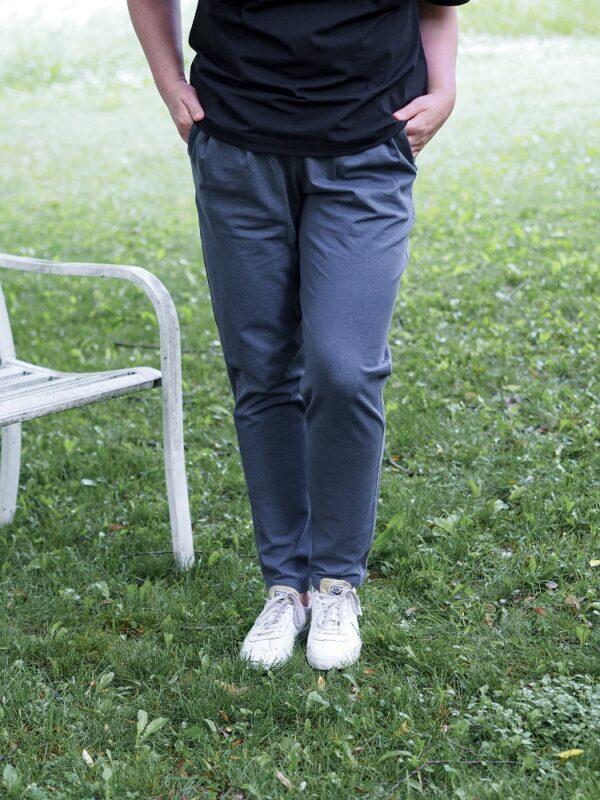 luomupuuvillaiset mukavat kestävät housut