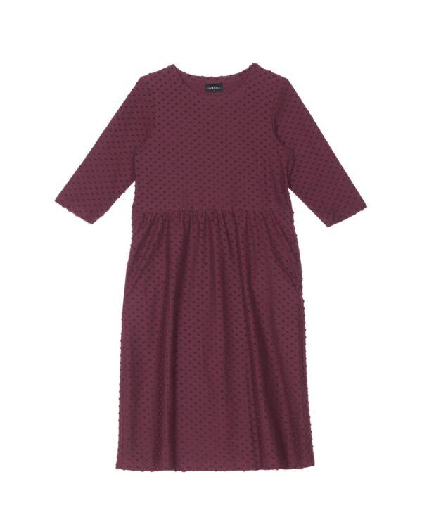Aarre viininpunainen mekko Marisa Dot