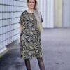 Lumoan Tuuli mekko kierrätetystä materiaalista