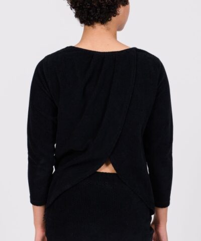 Wrap back shirt yozen