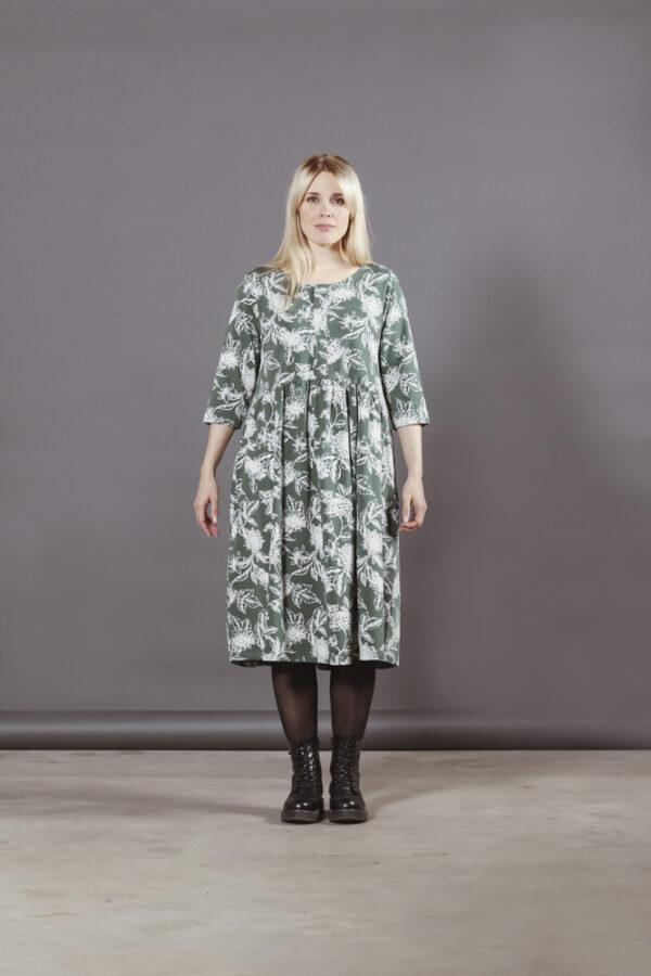 Puuvillatehdas Olivia mekko kukkakuosi