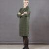 Puuvillatehdas mekko jacquard neulos luomupuuvilla