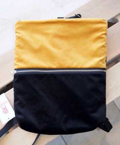Riiminka velour reppu valmistettu suomessa