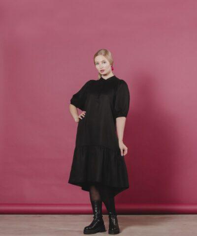 Lyocell mekko, silkinpehmeä, eettinen vaate, naisten mekko, Aarre