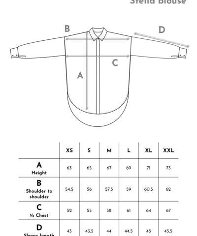 Aarre, Stella-puero mittataulukko