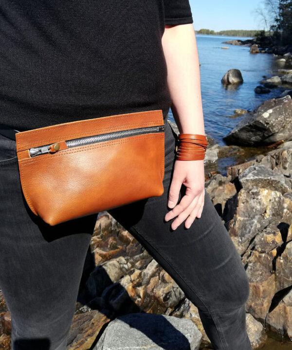 Suomessa valmistettu laukku