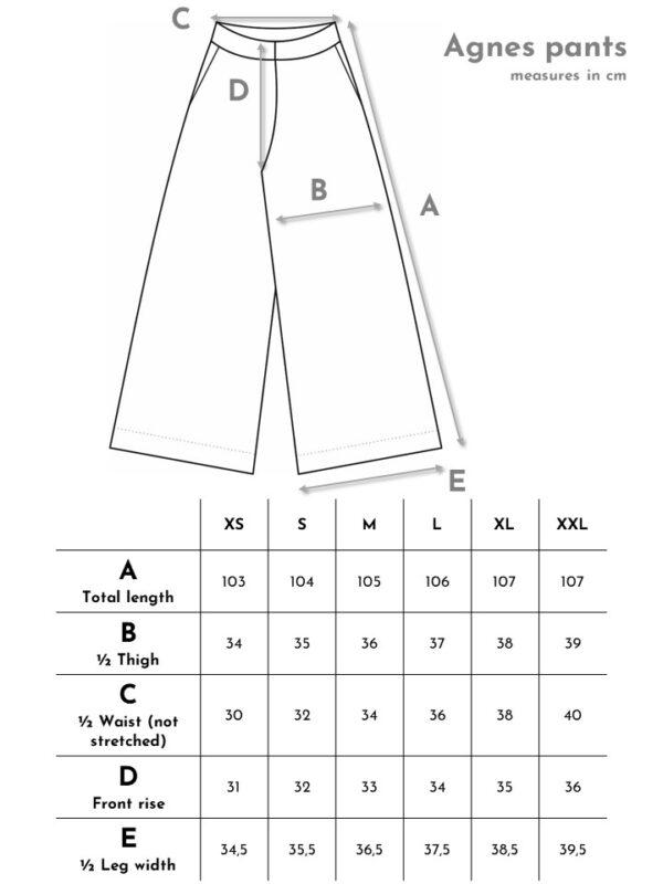 Pehmeät kudotusta puuvillasta tehdyt housut