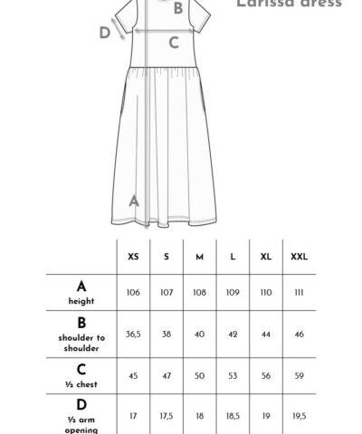 Aarre laadukas struktuurineulos mekko