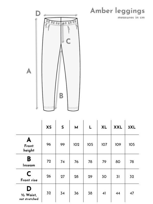 korkeavyötäröiset laadukkaat legginsit