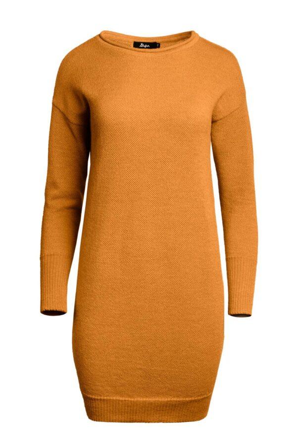 Laadukas kestävä alpakanvillainen mekko