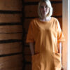 Pehmeä luomupuuvillainen mekko